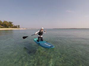 沖縄,伊是名,SUP,海