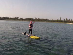 沖縄,伊是名,SUP,体験