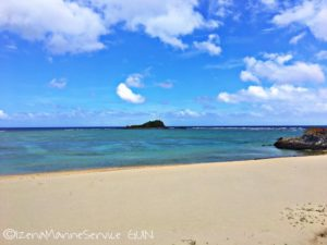 沖縄,伊是名,ターシの浜,島内観光