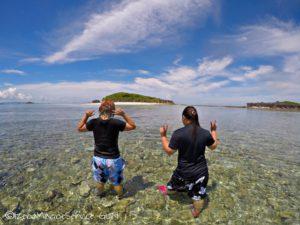 沖縄,伊是名,無人島