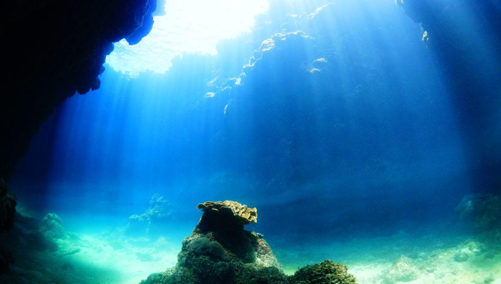 沖縄,伊是名,ダイビング