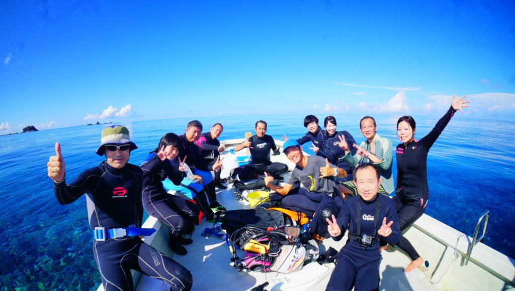 ダイビング,伊是名,沖縄,海