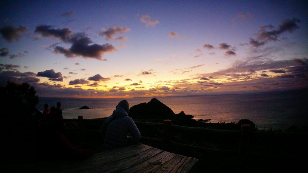初日の出,伊是名,沖縄
